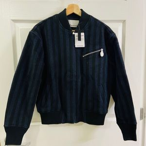 NWT $895 Alexander Wang Wool Bomber Jack size 0